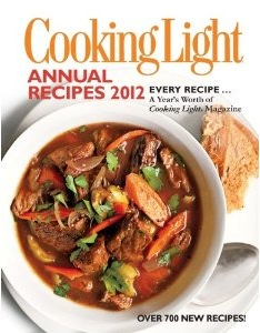Cooking Light Annual Recipes 2012